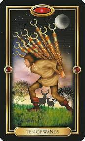Tarot Tips: Ten of Wands