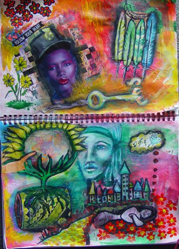 Art Journaling Workshops: What you need